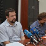 Ministri Damir Marjanović i Muamer Bandić; Foto: Nedim Grabovica, Klix.ba