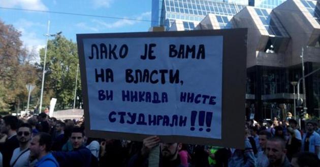 Srbija: Postignut dogovor između studenata i ministra prosvjete
