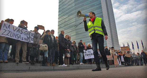 FOTO: Studenti protestovali u bh. gradovima