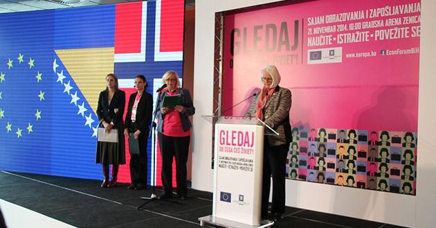 Sajam u Zenici: Mladi dobili priliku za prvo zaposlenje