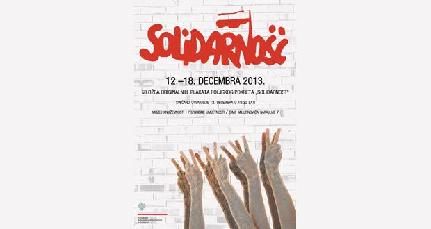"Poziv na izložbu plakata iz vremena ""Solidarnosti"""