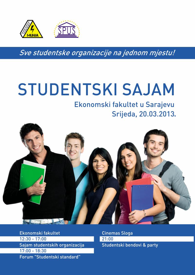 Prvi Studentski sajam – Sarajevo 2013