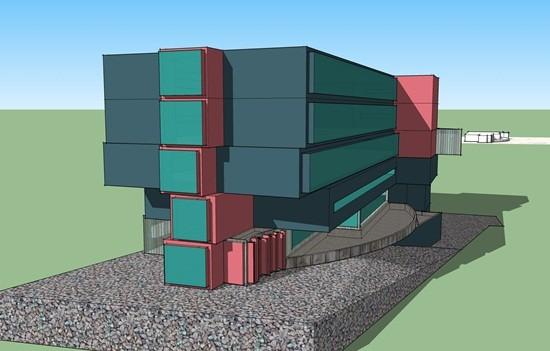 Izgled budućeg Studentskog centra u Tuzli