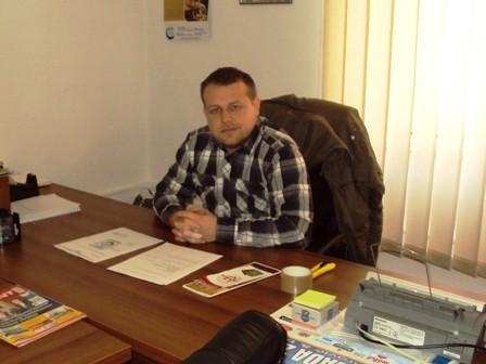 """Haris Šabanović, Predsjednik Unije studenata Univerziteta """"Džemal Bijedić"""" u Mostaru; Foto: Pogled.ba"""