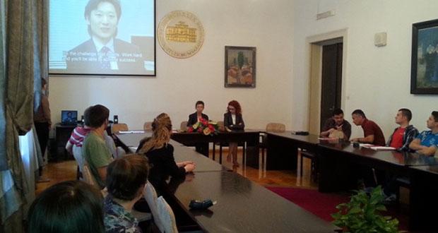 UNSA: Predstavljeni programi stipendiranja Vlade Japana
