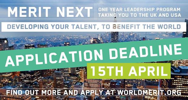 "World Merit: Year-long Leadership Program ""Merit Next"" [ENG]"