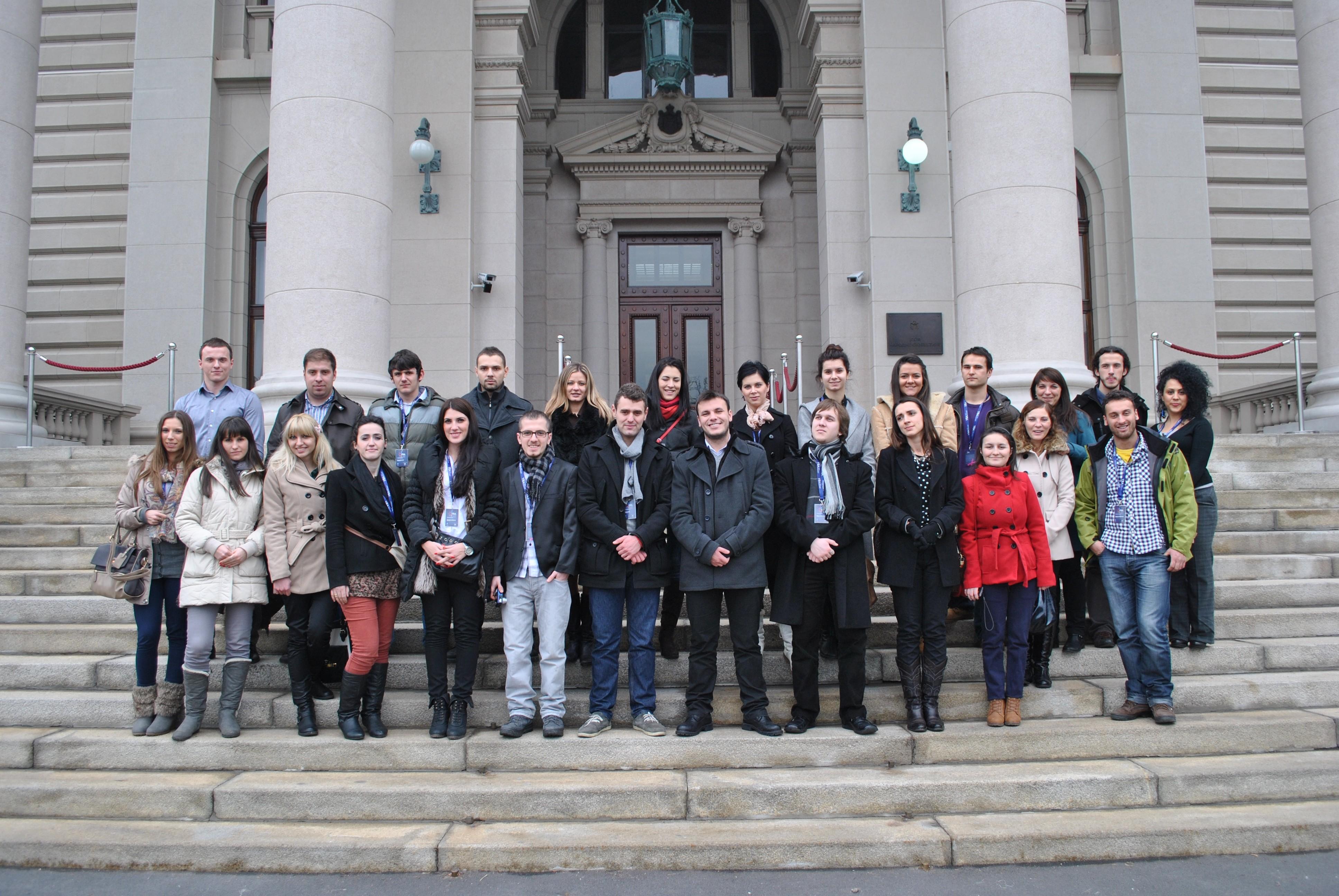 """Dvadeset """"Mladih ambasadora pomirenja"""" u Beogradu"""